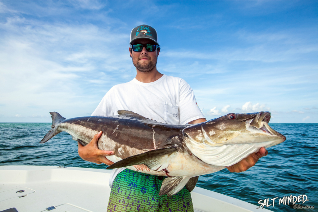 Trout and cobia oh my salt minded fishing charters for Ohio fishing expo